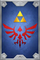 The Hylian Shield (ALBW) by ever-so-excited