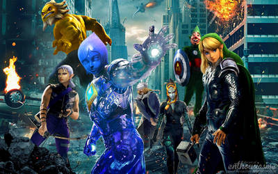 Hyrule Avengers by ever-so-excited