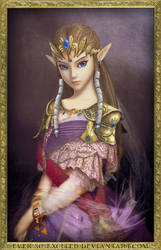 Portrait of Zelda of Hyrule by ever-so-excited