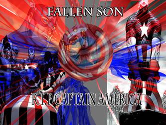 Captain America Wallpaper by LordDarknessZero