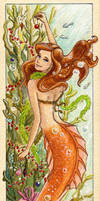 Bookmark: Merry Christmas from Under the Sea! by PiraWTH