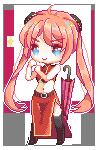 Kagura - Pixel by banapoo