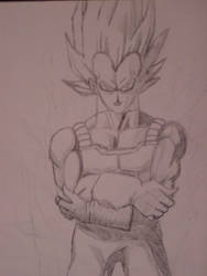 vegeta by twitchh