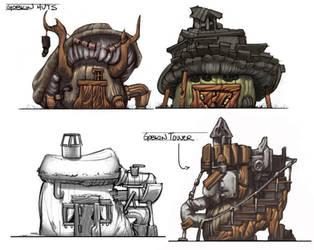 Gobkin Hut Designs by JoeMKennedy