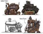 Gobkin Hut Designs by JoeMKennedy