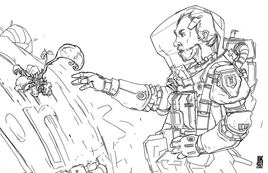 Spaceman by JoeMKennedy