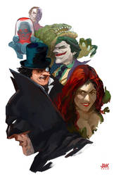 Rogues Gallery by JoeMKennedy