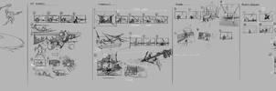 Escape from Helheim Thumbnails - God of War by JoeMKennedy