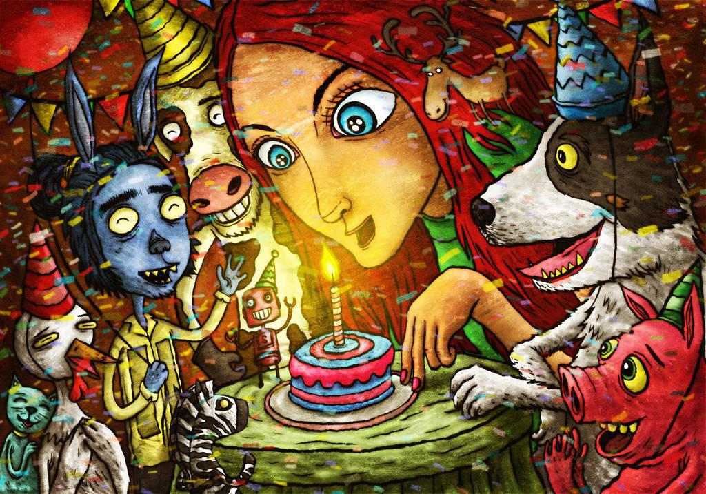 Happy Birthday Red by avid