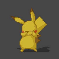 Pikachu by Kelsi-sama