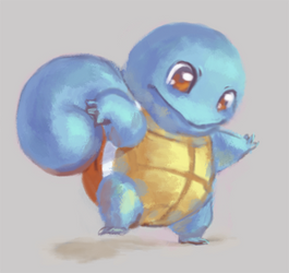 Squirtle by Kelsi-sama