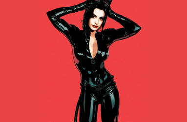 Anne Hathaway Faked Catwoman Suit by AvalonPublications