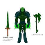 Kaban NDU Design (Villain) by AvalonPublications