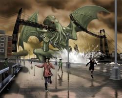Puente colgante by DavidMGarcia