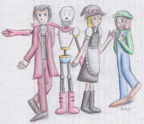 Dear Favs Characters by Laogei