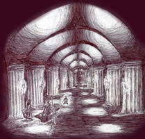 Underground Cathedral by suburbian-kat