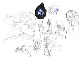 Endnlor sketches by suburbian-kat