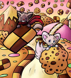 Collab: Cookie Land! by Lauzi