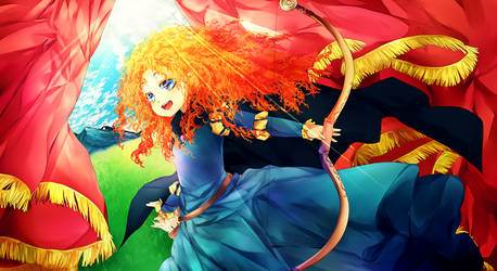 Brave: Merida by temiji