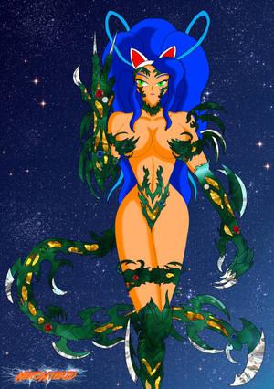 Witchblade Felicia by NekoHybrid