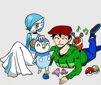 Cisco and his pokemon by Cisco9630