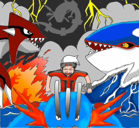 Pokemon ORAS fan art by Cisco9630