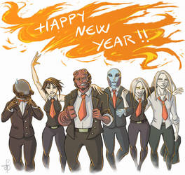 Nuada and Co :: 095 New Year by PrinceNuadaProject