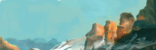 mountains by Grashalm89
