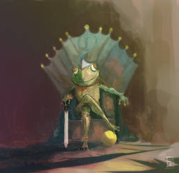 game of frogs by Grashalm89