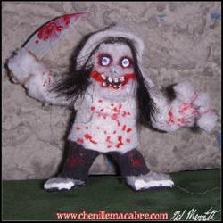 Jeff The Killer Chenille Stem Miniature by the-gil-monster