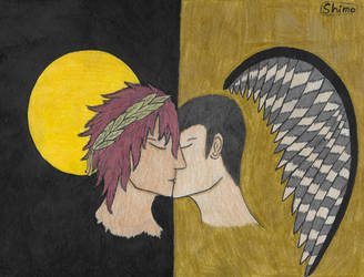 Icarus (Ardyn/Cor) by HinodeYoake