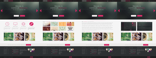 Mindfaint Website Template by OverdozeCreatives