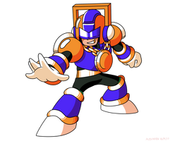 Mega Man Unleashed - PKN-002 Gold Man by AlmKornKid