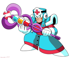 Mega Man Unleashed - PKN-005 Medic Man by AlmKornKid