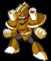 Mega Man Unleashed - PKN-007 Smog Man by AlmKornKid
