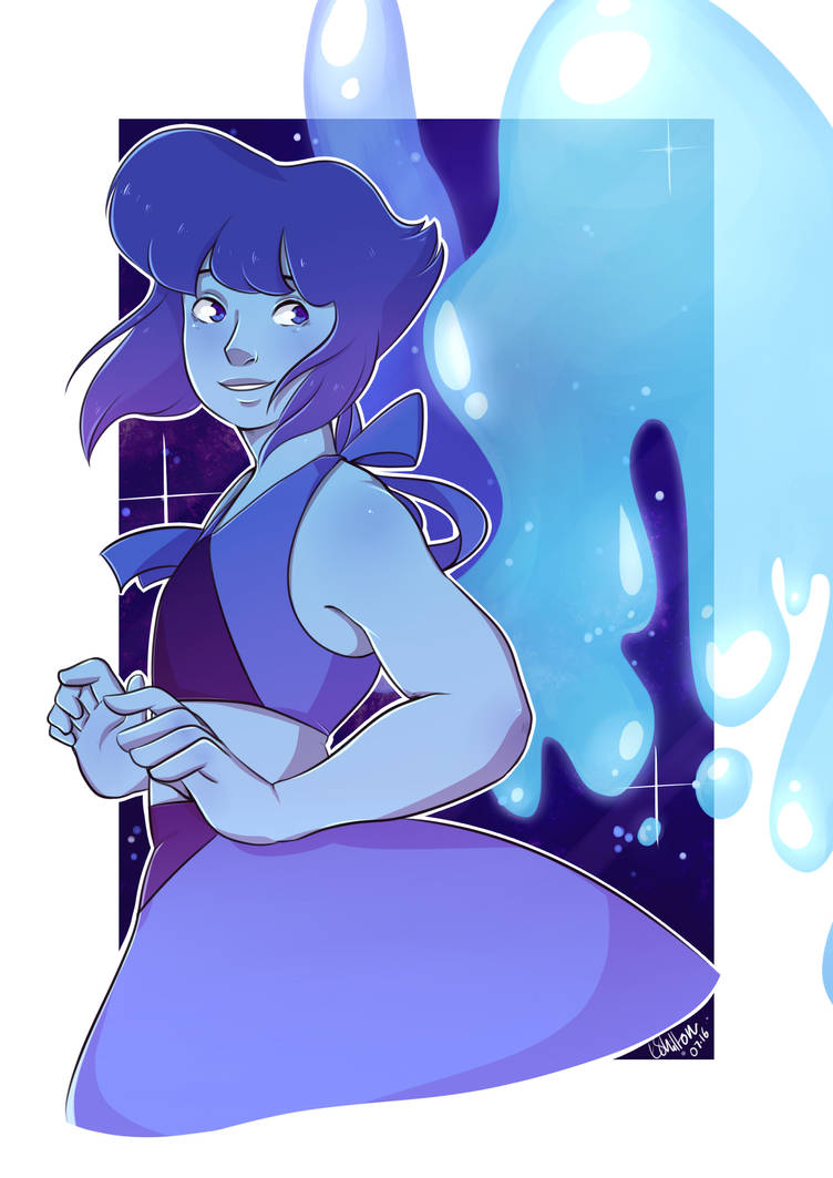 My brother asked me a couple weeks ago for a Lapis drawing and (finally) I have fulfilled his request!! Tried doing some colouring in a slightly different style! I think it worked out alright haha!