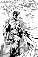 Dick Grayson by Merrk