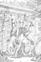 Batman Flash by Merrk