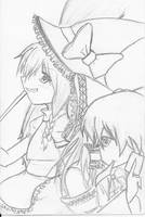 Raymoo and Marisa by Tenshi-Zetsumei