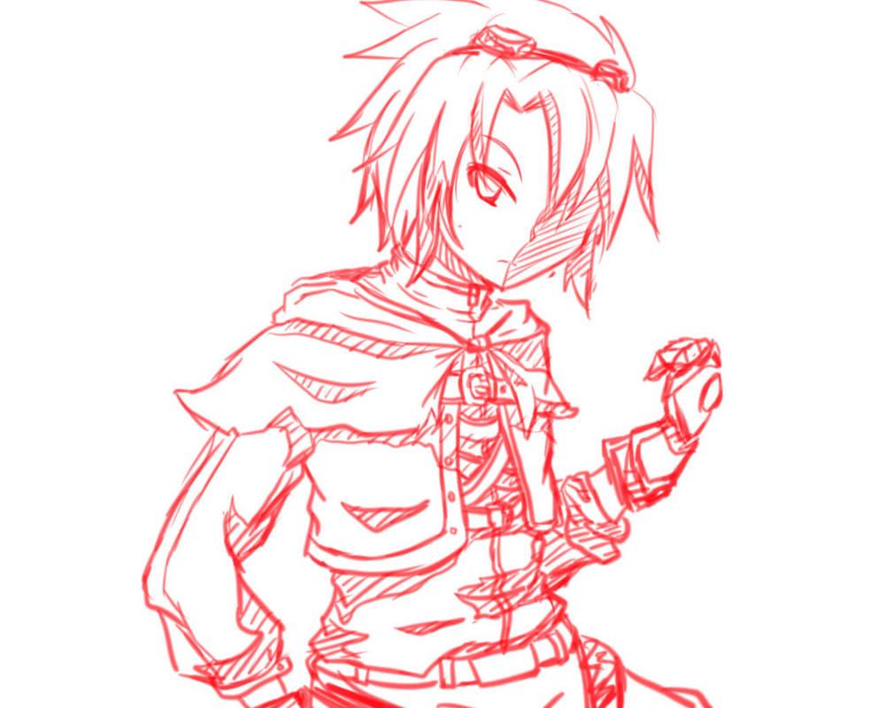 OC cosplaying Ez by Tenshi-Zetsumei