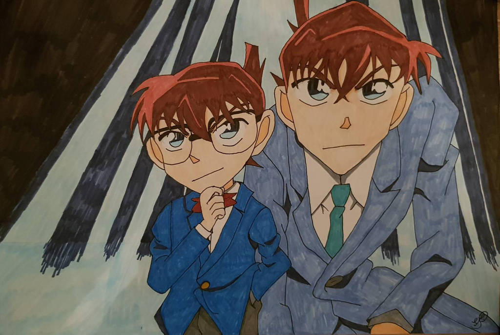 Conan/Shinichi by Shizuku71
