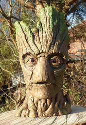 Groot sculpture by dashase