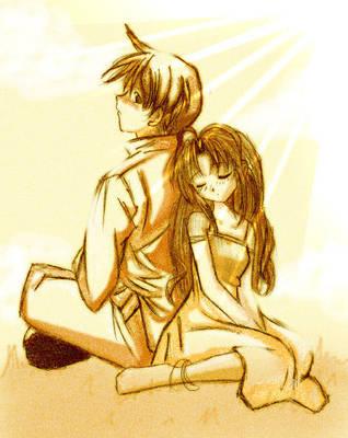 Boyfriend and Girlfriend by saka