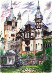 Peles Castle by Kaytara