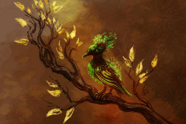 Mossbird by Kaytara