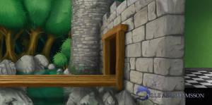 castle gate by Legendzor