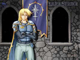 terra strike art by Legendzor
