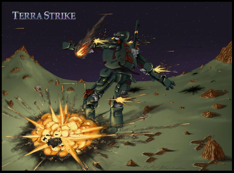 Terra Strike M4 end drawing by Legendzor