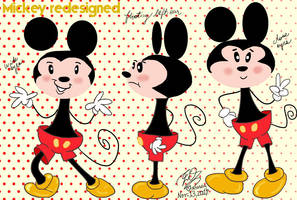 Mickey redesigned by E-Ocasio