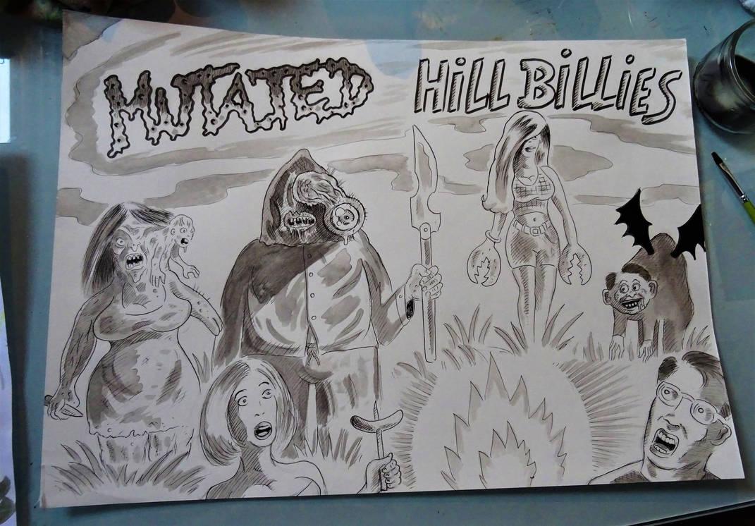 MUTATED HILLBILLIES ! by Glamvampyre